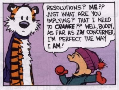 Resolutions?